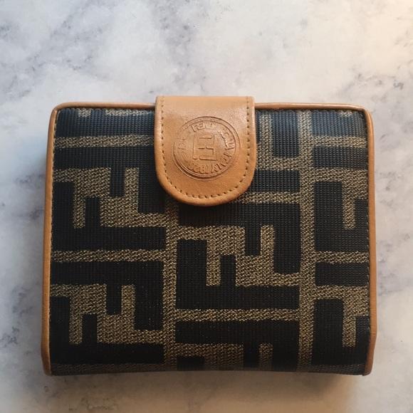 0338dca7c61b Fendi Handbags - Fendi Roma Italy 1925 Small Wallet